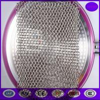 Buy cheap China 7*7 Inch Stainless Steel Chainmail Scrubber from wholesalers