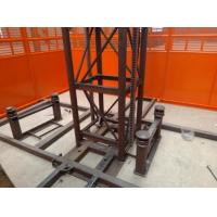 Best Custom Size Construction Hoist Elevator With Multiple Choices Of Doors wholesale