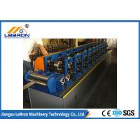 Best 2018 new type Full Automatic Shutter Door Guide Roll Forming Machine Long Time Service Time made in china wholesale