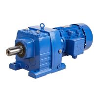 China Shaft Mounted Helical Gear Reducer / Gear Reduction Box Speed Reducer on sale