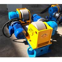 Quality Full Steel Tube / Light Pole Welding Machine 3 Ton Conventional Welding Rotator wholesale