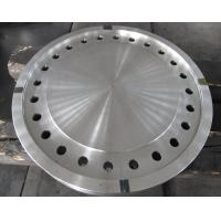 Forged Disc Tube Sheet Finish Machined For Heat Exchanger , Stainless Steel Brake Discs