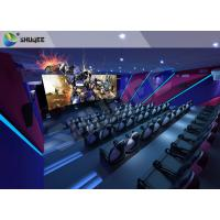 Cheap Smart Impressive 4D Movie Theater With first class electronic seat for sale