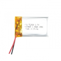 Best 400mAh 3.7v Li Ion Polymer Battery For Digital Products wholesale