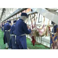 Cheap Goat Mutton Split Meat Production Line Slaughter Conveying Whole Processing Type for sale