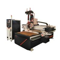 China Three Air Cooling Spindle Woodworking CNC Router Machine Large Load Bearing on sale
