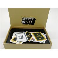 Best Interesting Secret Hitler Cards Popular Card Games For Adults Light Weight wholesale