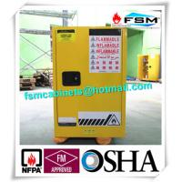 Quality Chemical Flammable Safety Storage Cabinets 12 GAL For Hazardous Material wholesale