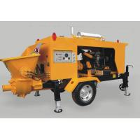Best DHBT40S diesel engine concrete pump 20-80m3/h trailer concrete pump with low price wholesale