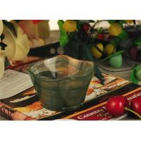 Best Antique handmade decorative glass bowl candle holder Green material wholesale