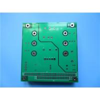 Best 3 Oz Copper Power Board PCB Built On FR-4 HASL With green soldermask wholesale
