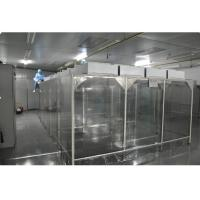 Cheap Biological Lab Modular Softwall Clean Room Class 10000 , Hospital Pharmacy Clean Room for sale