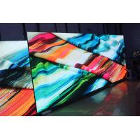 China 1200CD / SQM Bright Slim Panel Indoor Full Color Led Display , Stage Screen Background on sale