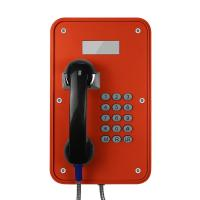 Best Vandal Resistant Industrial VoIP Phone Weatherproof With LCD Display Screens wholesale