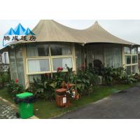 Best Outdoor Canvas Bell Tent With Luxury Liner And Hard Pressed Extruded Aluminum Alloy wholesale