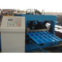 Quality Roof Tile Roll Forming Machine 22 Forming Stations For Metal Roof Panel wholesale