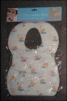 Best Eco Friendly Nonwoven Disposable Baby Bibs For Feeding SGS CE ISO OEM Service wholesale