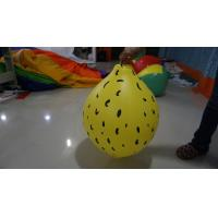 Best Durable Yellow 90cm Lemon Shaped Balloons With Digital Printing wholesale