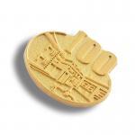 Best Delicate Womens Gold Lapel Pins , Souvenir Pin Badges Beads Decoration wholesale