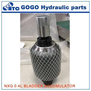 Quality NXQ series American Standard Hydraulic Bladder Accumulator Vertically installed wholesale