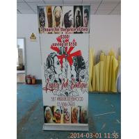 Best Easy Taking Luxury Double Sided Retractable Banner Full Color Printing wholesale