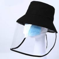 Best Unisex Style Cap With Face Shield Effectively Prevent Liquid Spray wholesale