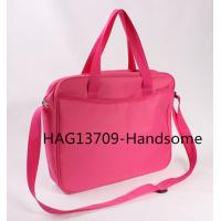 Best 420D polyester briefcase red color document bags-HAG13709 wholesale