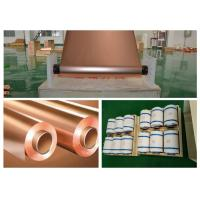 Best 30 Micron Thickness Copper Shielding Foil 99.95% Purity Good Etch Ability wholesale