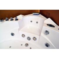 Cheap Fashionable Big Jacuzzi Whirlpool Bath Tub For Couple 1520 X 1520 X 590mm for sale