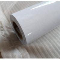 China Ov1001 Self Adhesive Clear Vinyl Film , Digital Printing Adhesive Backed Vinyl Sheets on sale