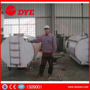 Best Large Milk Tank Horizontial Milk Transportation Tank SS304 / 316L wholesale