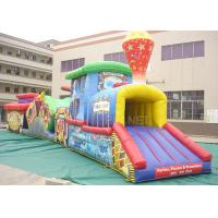 Best Challenge Race Inflatable Obstacle Course Train Tunnel Climb Slide wholesale