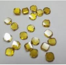 China 0.80ct/pc large size yellow diamond, large crystal diamond, diamond for jewelry on sale