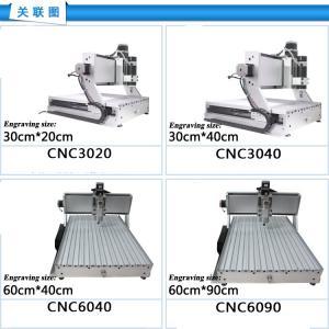 Best CNC Router CNC6040/CNC 6040/ CNC 4060/ cnc engraving machine/ 220V&110V drilling/ milling wholesale