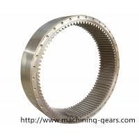 Quality Forging Steel Internal Gear , Mining Machinery Transmission Ring Gear wholesale