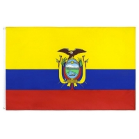 Best Custom Country Screen Printed Rectangle Feather Flag wholesale