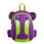 Best Purple Student School Backpacks For Toddlers , Cartoon Character Backpacks wholesale