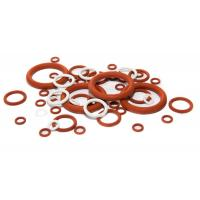 Buy cheap High Temperature Silicone O Rings Acid And Alkali Resistant , Lead Free Standard from wholesalers