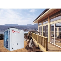 China Solar Heat Pump Air Source With Domestic Hot Water / Central Heating / Air Conditioning Cooler on sale