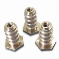 Best Grinding machine steel, iron, alloy cnc turning parts with Tin, Silver plating for elevator wholesale