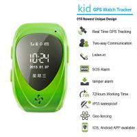 China 015 go everywhere smart wrist watch gps personal tracker for kids/old people with sos call on sale