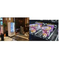 China Airport / Train Station Coin operated Instant Noodle Vending Machine Auto Self-Service on sale