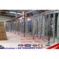 China Concrete Lightweight EPS Wall Panel Forming Machine GRG / GRC Board Making on sale