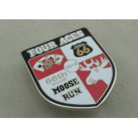 Best Copper Promotional Hard Enamel Pin Die Stamped Rush Pin Nickel Plated Trade Pin wholesale