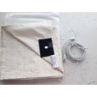 Cheap X-STATIC Ag-fiber+cotton conductive earthing sheet bed sheet for sale