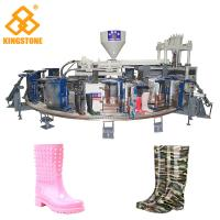 Best 1/2 color Fully Automatic PVC Farmer boots Injection Moulding machine boot making machine wholesale