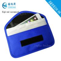 Best Canvas RFID Travel Bags , Mobile Phone Signal Rfid Blocking Wallet wholesale