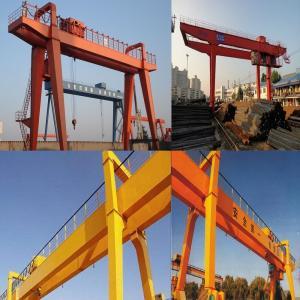Supply high quality 32/50/10 tons of double girder gantry crane, gantry container crane