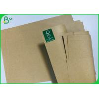 Best Eco Recycled Brown Craft Paper 120G 200G Cardstock For Printing Book Cover wholesale