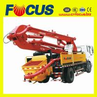 Best 28m boom concrete pump truck with dongfeng 4x2 wholesale